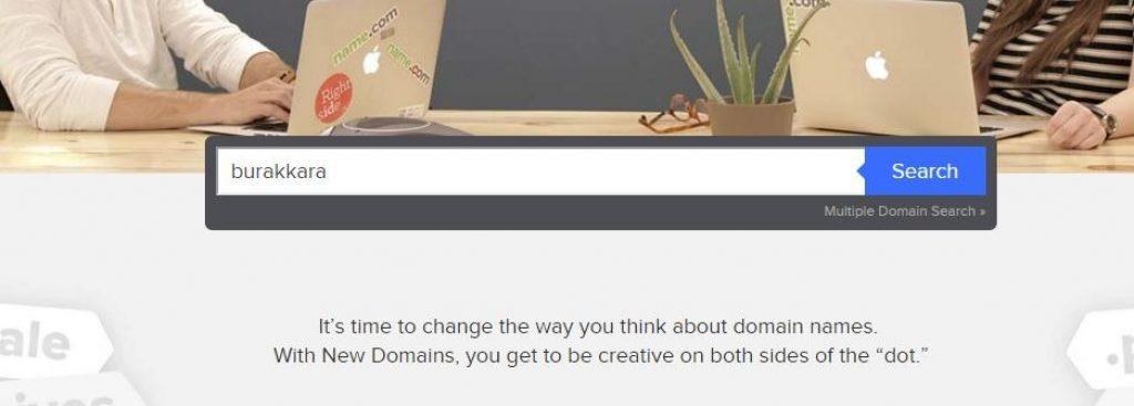 name.com ile alan adı domain sorgulama