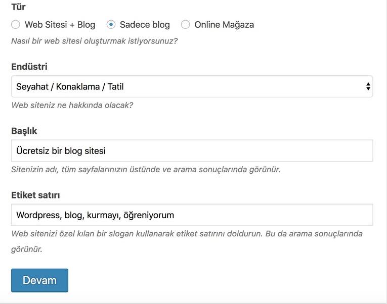 blog kategorilerini belirleme