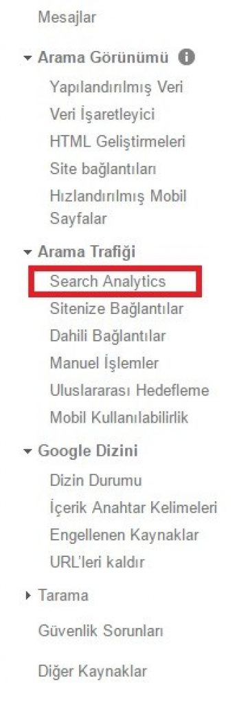 google webmaster tools kullanma