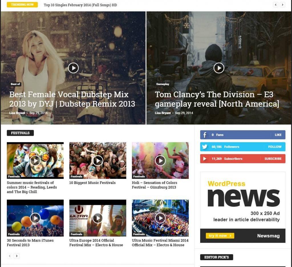 news mag wordpress haber temasi
