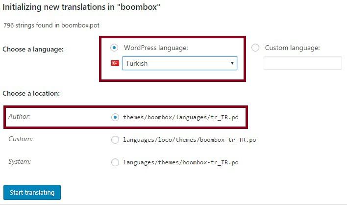 loco-translate-ile-tema-dili-belirleme