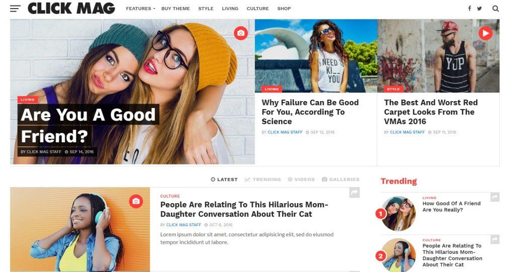click mag wordpress viral haber teması hakkında bilmeniz gerekenleri burada bulabilirsiniz.