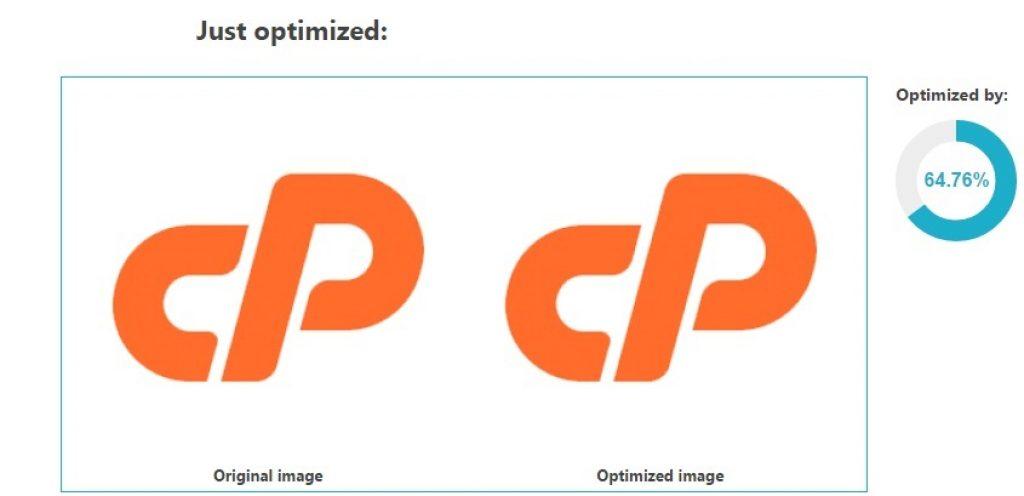 wordpress resim optimizasyonı örneği.