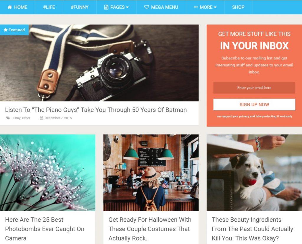 wordpress socially viral haber teması