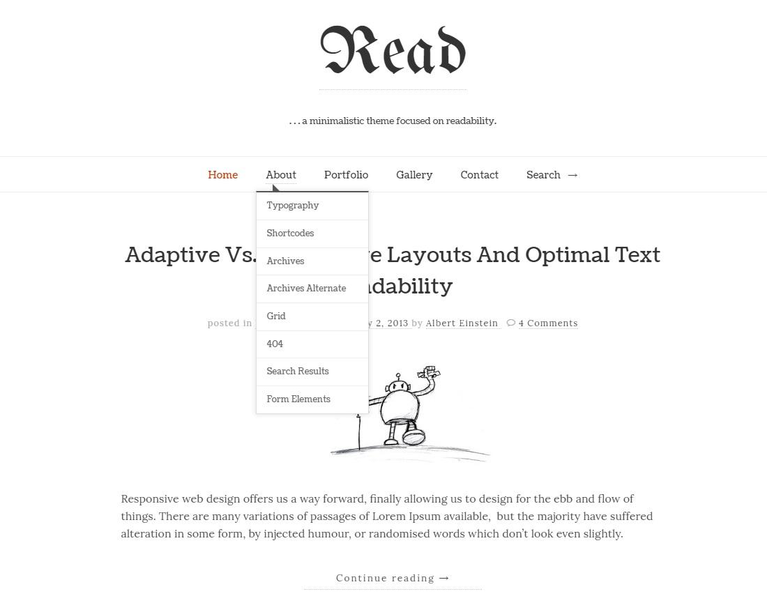 özellikle yazıya dayalı blog açmak isteyenlerin tercih edebileceği bir site