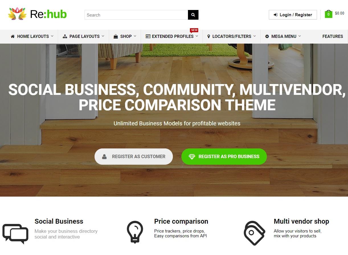 rehub wordpress blog teması hakkında detayaları öğrenebilirsiniz