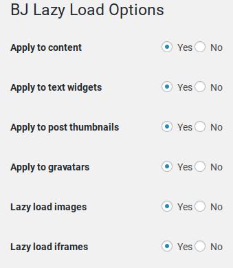 bj lazy load eklentisi sayesinde sayfalarınızın daha hızlı açılmasını sağlayabilirsiniz.