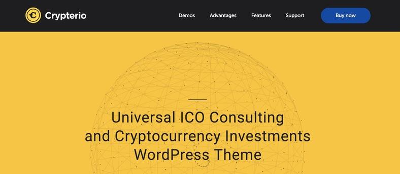 çok amaçlı wordpress bitcoin teması