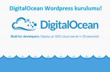 DigitalOcean WordPress kurulumu (Videolu anlatım)
