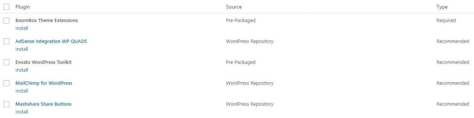 wordpress listeleme sitesi için yüklenmesi gereken eklentiler
